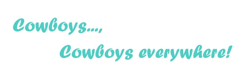 Cowboys..., Cowboys Everywhere Image